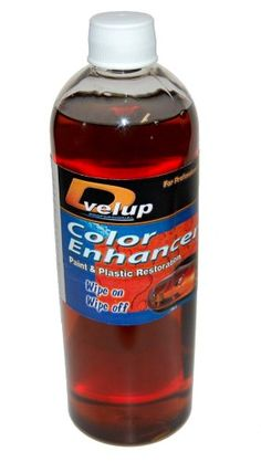 Color Enhancer 16oz Repair Surface Scratches Repairs car surface scratches on paint and faded or plastics using our polymer technology. No sanding or Buffing required.. Restores the deep shine and lustre to faded bumpers, door handles, luggage racks etc. Works on all cars color textured plastic. Fills in car scratches, any color car. Easy to use.. Wipe on, permanent.. Best way to add deep color to... #Color_Enhancer #Single_Detail_Page_Misc