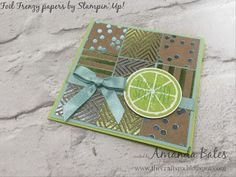 The Craft Spa - Stampin' Up! UK independent demonstrator : To My Main Squeeze...
