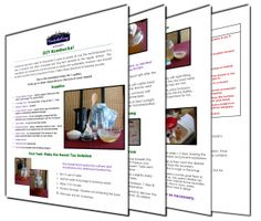 Kombucha Recipe and DIY Guide includes an easy to follow Kombucha Tea Recipe explaining how to make kombucha tea, kombucha brewing tricks. I...