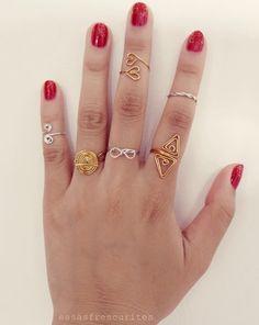 Essas Frescurites aí : Especial: Anéis DIY para inspirar                                                                                                                                                     Mais