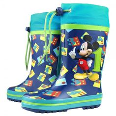 Botas de agua para niño y niña, Mickey Mouse