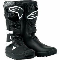 Alpinestars No Stop Trials Motorcycle Boots Black 8 - http://shoes.goshopinterest.com/womens/boots/motorcycle/alpinestars-no-stop-trials-motorcycle-boots-black-8/