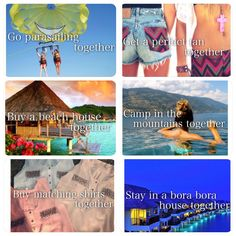All of these are a must for me and my bff to do! They would be so much fun!!!!!