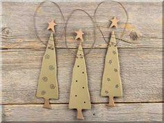 C1300 Chunky Tree Ornament Set (3A)