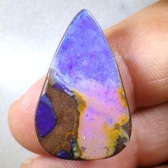 21.4CT Clean Faced Purple Winton Australian Opal, Gem Loose Unset by TheOpalGuys on Etsy