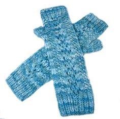 Free Knitting Pattern - Fingerless Gloves & Mitts: Take Root Fingerless Gloves