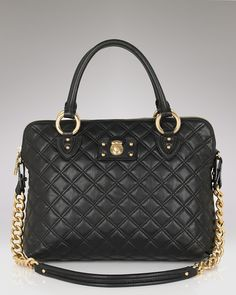 wantwantwant.....Marc Jacobs The Standard Quilted Leather Satchel $1295