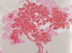 Orvieto Wallcovering Begonia - Orvieto Wallcoverings : Tissus & Papier Peint de design, Tissus d'ammeublement