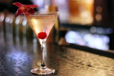 The Pear Flower Martini at Tallulah