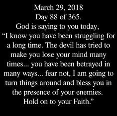 Thank You Lord!!! (This is EXACTLY what I need to hear right now!!!) ❤❤❤