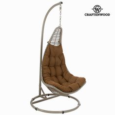 If you want to add a touch of originality to your home, you will do so with Hanging basket seat x 98 x 98 cm) by Craftenwood. dimensions: 205 x 98 x 98 cm Craftenwood