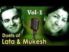 Best of Lata Mangeshkar & Mukesh Duets - Vol 1 - Top 10 Lata Mukesh Songs