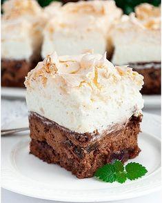 Rafaello na krakersach - I Love Bake Kitchen Chemistry, Calzone, Dessert Bars, Kimchi, Baked Goods, Nutella, Cheesecake, Food And Drink, Veggies