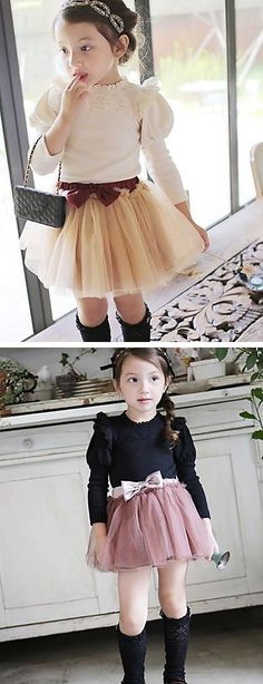 Fall is already here, get this cute cotton shirt for your little girl. Only $16.99