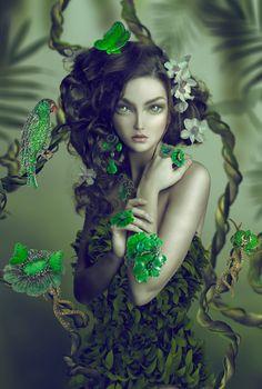 Amazonia, Natalie Shau/Lydia Courteille, very Art Nouveau