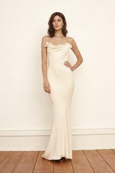 6b3091b18500 11 Minimalist Dresses for 90s-Loving. Slip Wedding DressChic ...