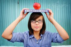 Teen - Kodi Wright Photography....cute and kind of nerdy and I love it!