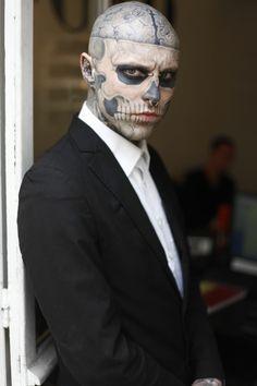 maquillaje de halloween para hombres