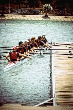 Photograph Rowing by Frankona on Rowing Sport, Rowing Crew, Row Row Your Boat, The Row, Olympic Rowing, Rowing Quotes, Skate, Coxswain, Row Row Row