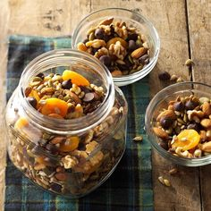 Nuts and Seeds Trail Mix Recipe from Taste of Home