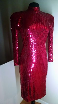 Sequin Covered Singers Dress / Leading Voice in by MichigansMom
