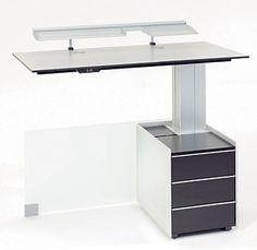 Beistelltisch Bene Free Desk - Bene Büromöbel