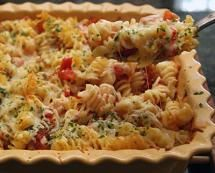 12 Delicious Everyday Family Casserole Recipes: Rotini Bake With Tomatoes and Cheese