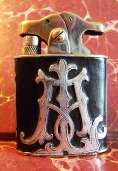 Antique Vintage rare Derby art nouveau lighter unusual