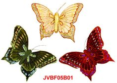 The assorted Iridescent Glitter artificial butterflies are the elaborately handcrafted butterflies with exquisite design.Beautiful Feather Butterflies in assorted colors and sizes! Artifical Butterflies-Decorative Butterflies-Fake-Butterflies-Floral Crafts.