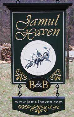 Jamul Haven Bed and Breakfast Sign / Danthonia