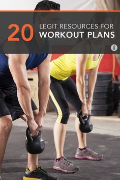 The 20 Best Resources for Legit Workout Plans — Looking to change up your workout routine? Here are some of the best resources to get you on the right track. #workout #program #training #greatist