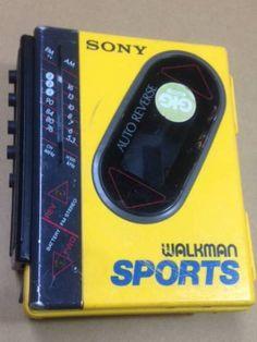 SONY WALKMAN SPORTS WM-F75 ウォークマン ジャンク_画像1