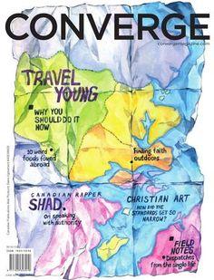 Converge magazine // 7  Cover art by Janice Wu