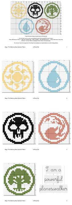 Magic cross stitch