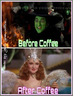 hahahahahaha! This is the truth as I know it! Of course, I'd pin a Wizard of Oz Coffee pic ;-)