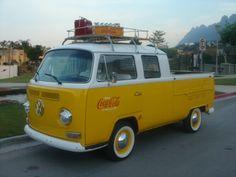 Foto VW Pickup Doble Cabina Baywindow
