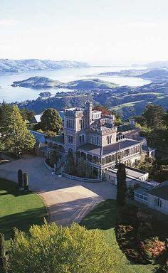 Dunedin New Zealand Larnach Castle , Dunedin, South Island, New Zealand New Zealand Cities, New Zealand Travel, Scenery Photography, Landscape Photography, Night Photography, Landscape Photos, Dunedin New Zealand, Places To Travel, Places To Visit
