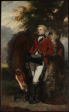 Captain George K. H. Coussmaker (1759–1801) by Sir Joshua Reynolds, 1782