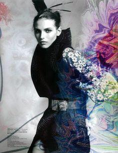 Vogue Turkey Editorial August 2012 - Karlina Caune by Jem Mitchell