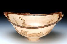 "9"" Three Cornered Big Leaf Maple Burl | Barbara Crockett Woodturning"