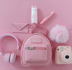Various Features of Cute School Bags – Bags & Purses Pink Love, Cute Pink, Pretty In Pink, Organizer Box, Mode Kawaii, Pink Color, Purple, Accessoires Iphone, Rosa Rose
