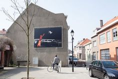 corey arnold via fecal face in Knokke-Heist, Belgium~~i love how these photos have been installed in this town..