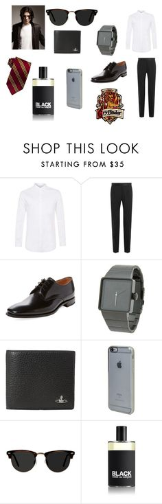"""""""Gryffindor"""" by emmalineavery ❤ liked on Polyvore featuring Topman, Dolce&Gabbana, Loake, Nixon, Vivienne Westwood, Incase, Ace, Comme des Garçons, men's fashion and menswear"""