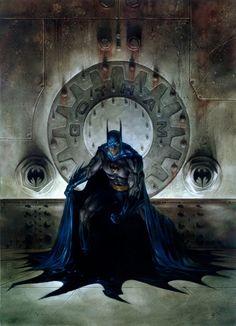 Batman por Dave Dorman, recuerdo de las Pepsi Cards.