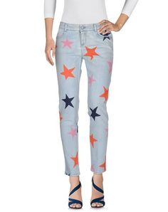 STELLA MCCARTNEY Denim trousers. #stellamccartney #cloth #dress #top #skirt #pant #coat #jacket #jecket #beachwear #