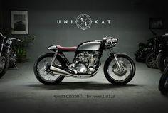 CB 550 SL Unikat 1/1 Motorworks & Studio - RocketGarage - Cafe Racer Magazine