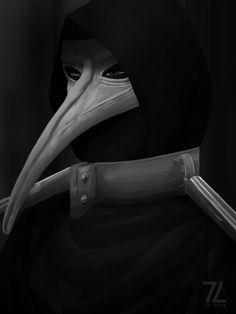 SCP Foundation scp fan art Plague Doctor not my art. I like it tho Scp Plague Doctor, Doctor Mask, Scp 49, Desenhos Gravity Falls, Villainous Cartoon, Scary Stories, Creepypasta, Dark Art, Fnaf