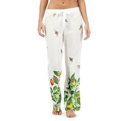 B by Ted Baker White garden print trousers | Debenhams