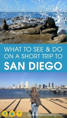 Planning to visit San Diego? While living here this is a list I created of fun things to do in San Diego. From places to see to fun activities in San Diego. San Diego Vacation, San Diego Travel, San Diego Trip, Pacific Coast Highway, Usa Travel Guide, Travel Usa, Travel Guides, Travel Trip, Travel Deals