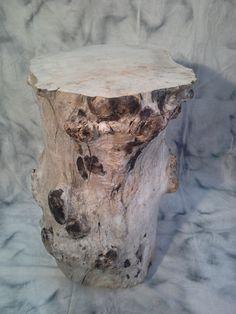 Table Mange debout en bois flotté